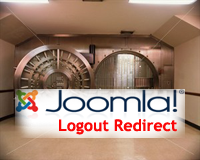 Joomla Logout Redirect