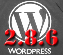 Wordpress 2.8.6 Security Release