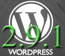 WordPress 2.9.1 Incoming