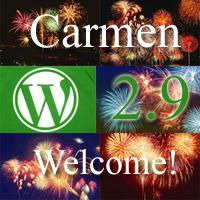 wordpress 2.9 release