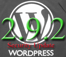 WordPress 2.9.2 Security Update