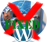 WordPress plugin security fix