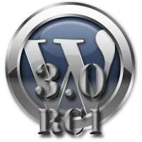 WordPress 3.0 Release Candidate 1