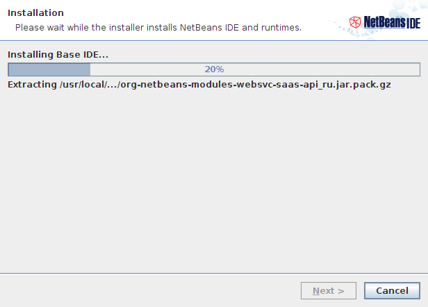 NetBeans IDE Installer Step 5