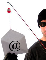 Phishing email - original image is iStockphoto.com/Dave Pilibosian
